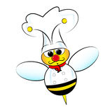 Bee Chef royalty free stock photos
