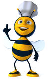 Bee chef Royalty Free Stock Image