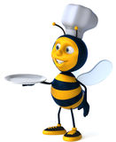 Bee chef Royalty Free Stock Photography