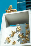 Bee Colony. Artwork at Eureka Tower, Melbourne, Australia Royalty Free Stock Images