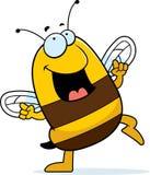 Bee Dancing Royalty Free Stock Image