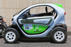 Bee Electric car Royalty Free Stock Photos