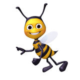 Bee flying pose Stock Photography