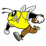Bee Football Stock Photo