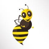 Bee. A happy bee is dancing Stock Photos