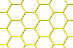 Bee Hive Background. There is a bee hive background vector illustration