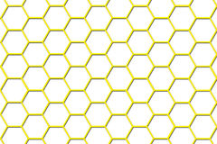 Bee Hive Background - Smaller Cells. There is a bee hive background Royalty Free Stock Images