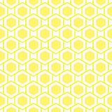 Bee Hive Geometric Seamless Background Royalty Free Stock Photography