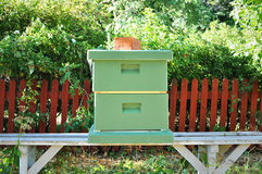 Bee hive in park. Royalty Free Stock Photo
