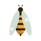 Bee honey insect insect icon Royalty Free Stock Photos