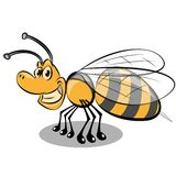 Bee icon Royalty Free Stock Photo