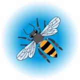 bee icon royalty free illustration