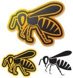 Bee. Icon, honey ,  symbol Stock Photo