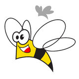Bee illustration Stock Photo