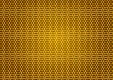 Bee& x27; illustrazione del favo di s Fotografia Stock