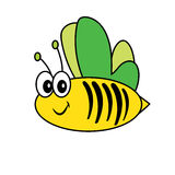 Bee Insect Poultry nature beast icon cartoon design abstract illustration animal Royalty Free Stock Photo