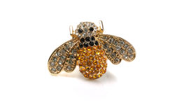 Bee Jewelry with stones Royalty Free Stock Photos