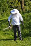 Bee Keeper. Colorful and crisp image of bee Keeper royalty free stock image