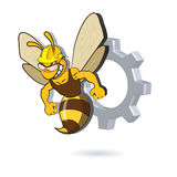 Bee Mascot Design Stock Photos