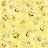 Bee Pattern Stock Images