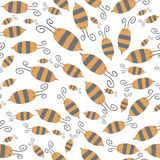 Bee Pattern Stock Photography