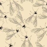 Bee pattern Stock Photos