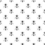 Bee pattern vector Stock Image
