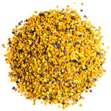 Bee Pollen. On a white background stock photo