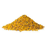 Bee Pollen. On a white background royalty free stock photo