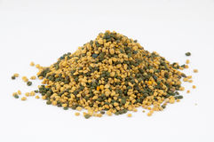 Bee pollen. The pollen collected by bees from the flowers Stock Image