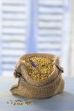 Bee pollen in a bag Stock Photos