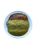 Bee pollen in the bowl closeup Royalty Free Stock Photo