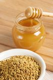 Bee pollen,  close up Royalty Free Stock Photo