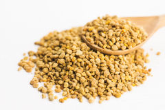 Bee pollen closeup Royalty Free Stock Images