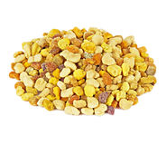 Bee pollen granules Royalty Free Stock Photo