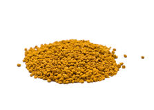 Bee Pollen isolated on white Stock Image