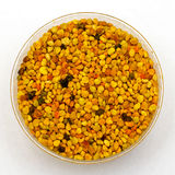 Bee pollen jar Royalty Free Stock Images