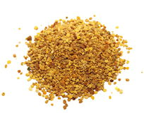 bee pollen on white Stock Photography
