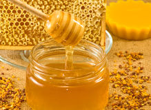 Bee  products Stock Photos