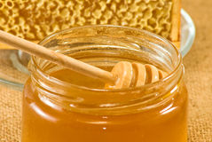 Bee  products Royalty Free Stock Photo