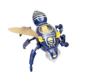 Bee Robot. Toy Bee Robot in white background stock photography