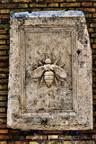 Bee sculpture Stock Image