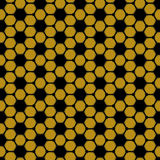 Bee seamless Royalty Free Stock Photos
