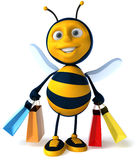 Bee shopping Stock Images