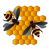 Bee,sign,icon,best 3D illustration. Bee,sign,best icon,3D illustration Stock Photo
