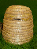 Bee skep for honey production Royalty Free Stock Photography
