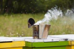 Bee smoker Royalty Free Stock Photos