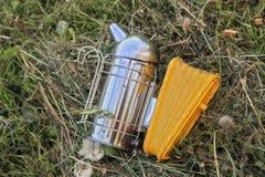 Bee smoker Stock Photography