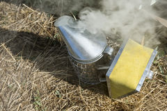 Bee smoker Stock Photos