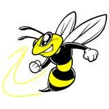 Bee Team Mascot Stock Image